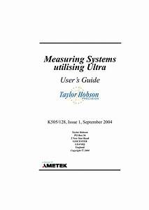 Ultra Systems User Guide Book