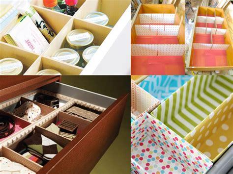 Organizzare i cassetti con il fai da te Rubriche InfoArredo Arredamento e Design per la