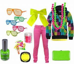 80s Neon Fashion Darlene624