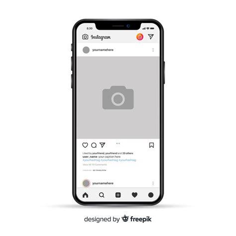 cornice fotografica cornice fotografica instagram realistico su iphone
