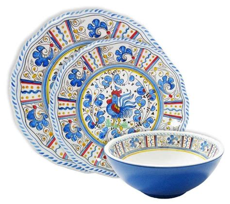 melamine dinnerware outdoor rooster sets patio quality dinner plates sc st dish square tableware plate italian clearance turquoise serveware modern