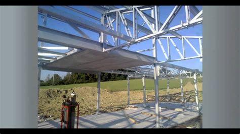 costruzione case  acciaio poly youtube