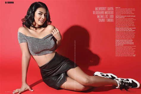 Galeri Foto Seksi Model Cantik Dj Sourra Fhm Indonesia 2017 Melayu Bogelgambar Lucahtudung