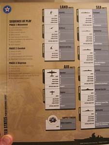 Dice Chart Axis Allies Guadalcanal Rules Photos Forums