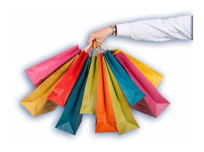 Compras Shopping Bolsas Ropa Dibujo Bolsa Tiendas