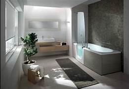 Modern Bathroom Modern Bathroom Interior Landscape