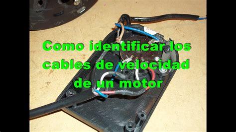 cableado de ventilador de techo de tres velocidades e invers yoreparo como identificar los cables de velocidades de un ventilador youtube