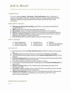 musiel jodi a resume buyer With buyer resume