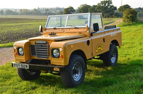 land rover series 3 custom 1981 land rover series iii 88 swb iconic camel trophy