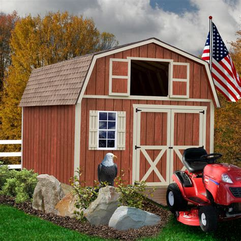 Menards Wood Storage Shed Kits by Best Barns Millcreek 12 X 16 Shed Kit Without Floor At