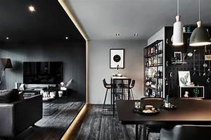 See, Inside, An, Interior, Designer, U2019s, Black, Home