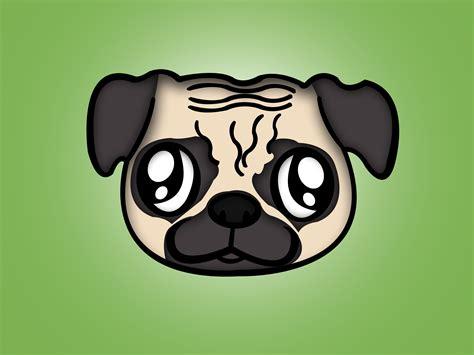drawn randome pug puppy pencil   color drawn