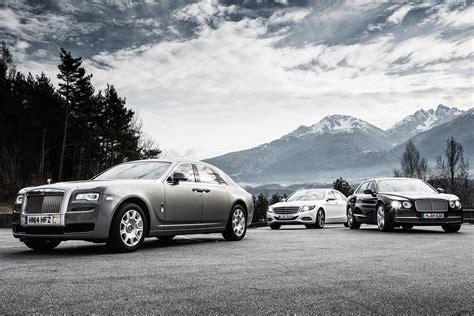 Rolls Royce Vs Bentley by Mercedes S600 Vs Rolls Royce Ghost Vs Bentley Flying