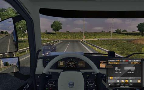 prowadzenie auta  euro truck simulator  jazda