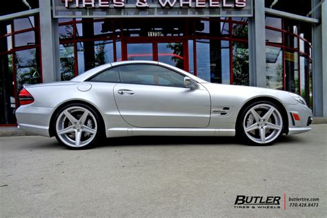 mercedes sl class   niche apex wheels exclusively