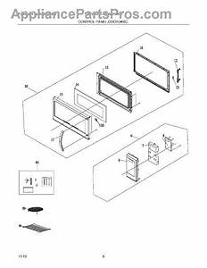 Parts For Frigidaire Fgmv154clfa  Control Panel Door Miscellaneous Parts