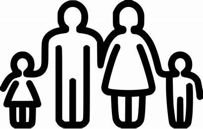 Icon Boy Mother Father Child Children Symbol