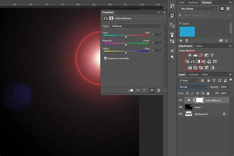 how to change the color of a layer in photoshop how to change the color of a lens flare in adobe photoshop