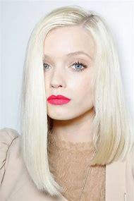 Long Platinum Blonde Hair Pale Skin