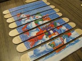 Popsicle Stick Crafts Preschool