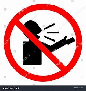 No Talking Sign Vector Stock Vector 332739836 - Shutterstock
