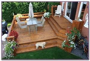 Deck ideas for small backyards decks home decorating for Deck and patio ideas for small backyards