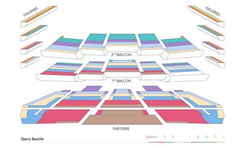 plan numerote salle opera bastille op 233 ra bastille prochains concerts de musique classique