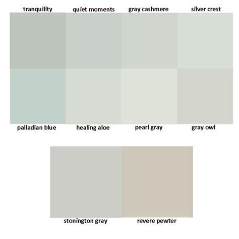 benjamin moore greys tranquility quiet moments gray