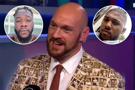 Tyson Fury tells Anthony Joshua to 'grow a pair' and agree ...