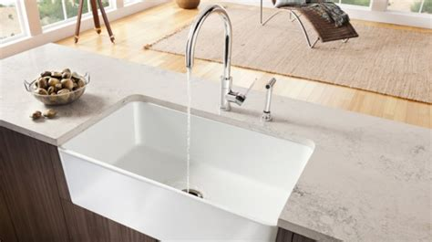 Farmhouse Sink Canada by Fireclay Sinks Featuring Blanco Cerana Blanco