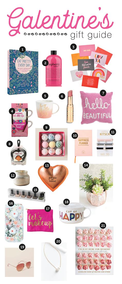 Galentine's Day Gifts// Valentine's Day Gift Guide for Her ...