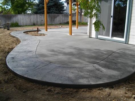 lenz custom concrete patio ideas boise sted patios