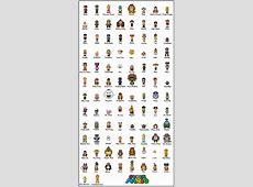 Super Mario Bros Complete Series Sprites UPDATED by SWSU
