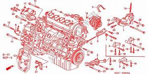 Honda Civic 2001 Engine Parts