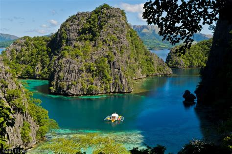 Kayangan Lake Coron Islands Palawan Philippines Hotelflux