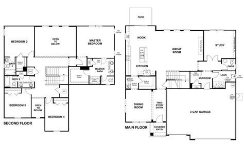 New American Floor Plans by Richmond American Homes Floor Plans
