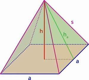 Trigonometrie Höhe Berechnen : rechner pyramide matheretter ~ Themetempest.com Abrechnung