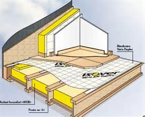 maison ossature bois isolation thermique des planchers