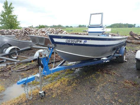 Alumaweld Boat Windshield by 1987 Used 17 Alumaweld Inboard Koffler Boats