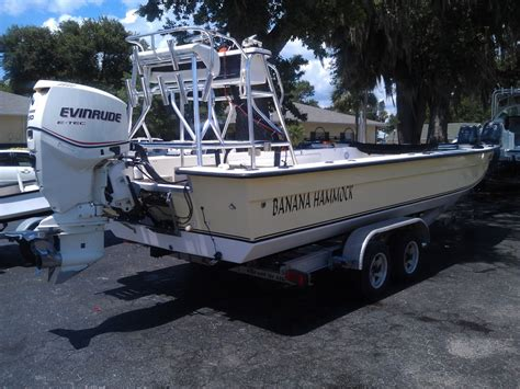 Skiff With Tower by 07 Bayrider 23 Tower Skiff 150 E Tec 16500 Firm The