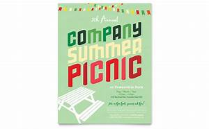 company summer picnic flyer template word publisher With publisher save the date templates
