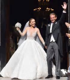 swarovski crystal heiress victoria swarovski39s wedding With swarovski wedding dress