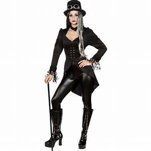 Gothic Kleidung Auf Rechnung : gothic frack f r damen ~ Themetempest.com Abrechnung