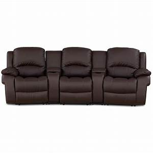Reclining sofa bed smileydotus for Leather sectional sofa with recliner and bed