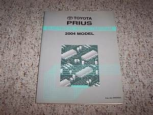 2004 Toyota Prius Hybrid Electrical Wiring Diagram Manual
