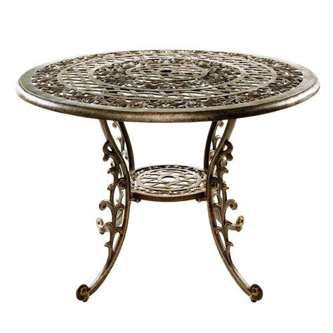 oakland living mississippi antique bronze patio dining