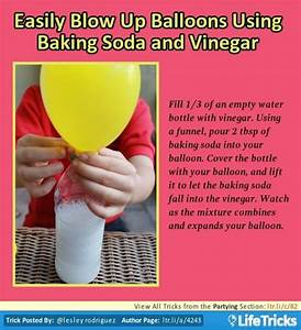 Partying - Easily Blow Up Balloons Using Baking Soda and ...