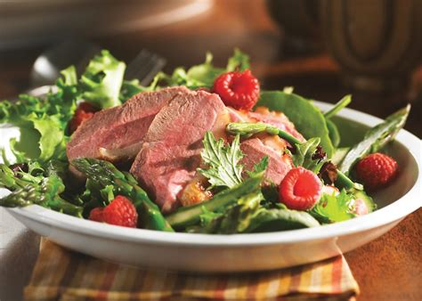 Entree Salade Magret De Canard by Salade De Poitrines De Canard Et Asperges Vinaigrette Aux