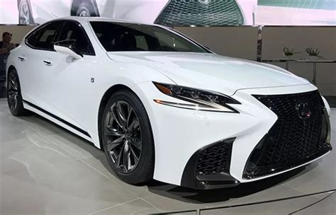 2020 Lexus Ls by 2020 Lexus Ls 500 F Sport Interior Colors Changes Specs