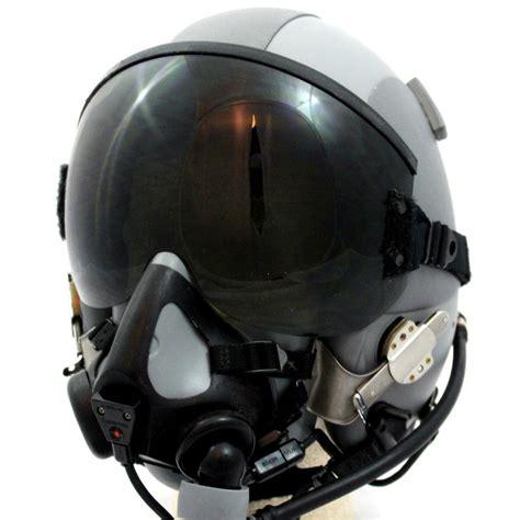 New Hgu-gentex 55/p Usa Lg Jet Fighter Pilot Helmet Mbu